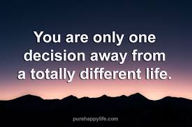 One Decision